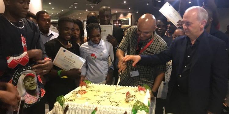 Los alumnos del Instituto Nacional de Formación Hotelera finalizan sus prácticas en el Gran Hotel Djibloho