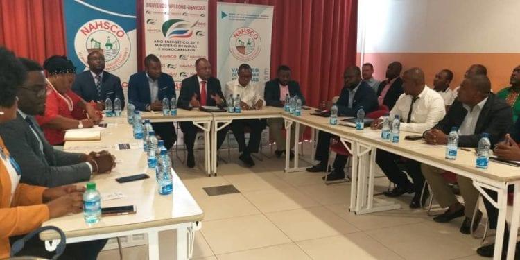 La NAHSCO presenta su Asociación y la Conferencia de Oil & Gas Meeting Day Malabo Service en la Región Continental