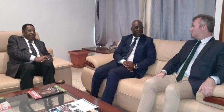Una alta delegación del Ministerio de Asuntos Exteriores francés ha llegado este sábado a Malabo