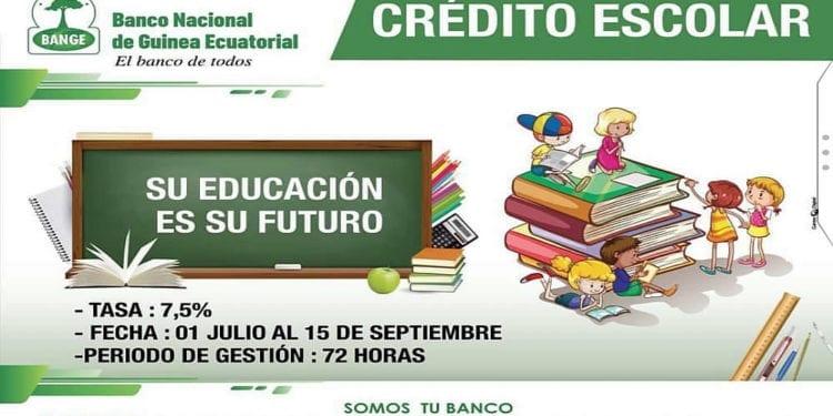 BANGE lanza el Crédito Escolar para el año académico 2019-2020