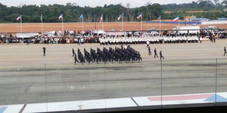 Celebración del día de las fuerzas Armadas 2019
