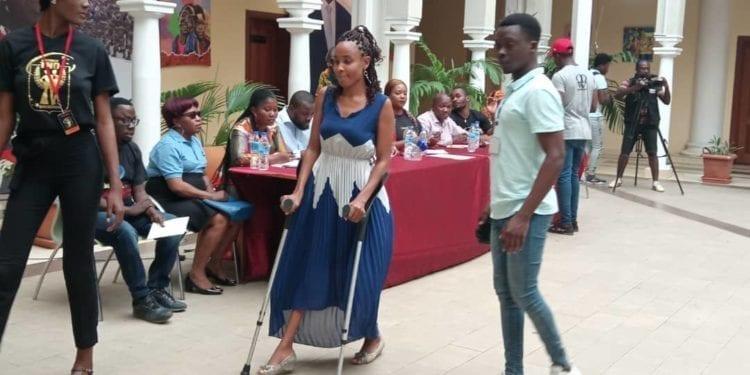 26 personas con discapacidad participan en el casting del certamen Miss y Míster Inclusión en la ciudad de Malabo