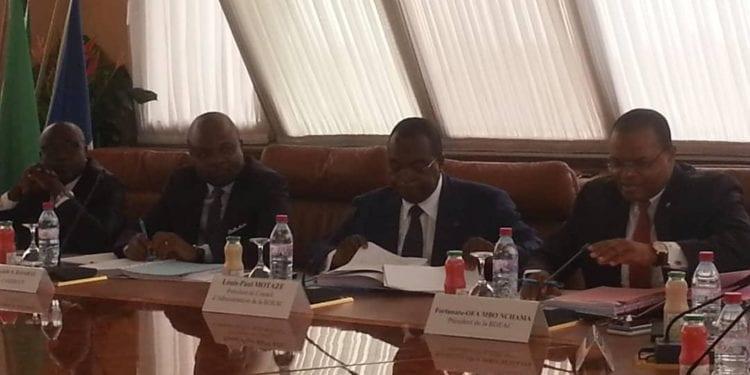 Reunión de la Junta del Consejo de Administración del Banco de Desarrollo de los Estados de África Central en su sede en Brazzaville