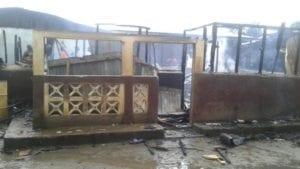 Un incendio se ha declarado en el barrio Semu en Malabo, se habla de una vivienda totalmente calcinada y otras tres a medias.