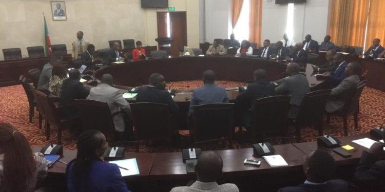 El Director General de Organismos Autónomos y Empresas Públicas del Estado, se ha reunido con los Censores de Cuentas