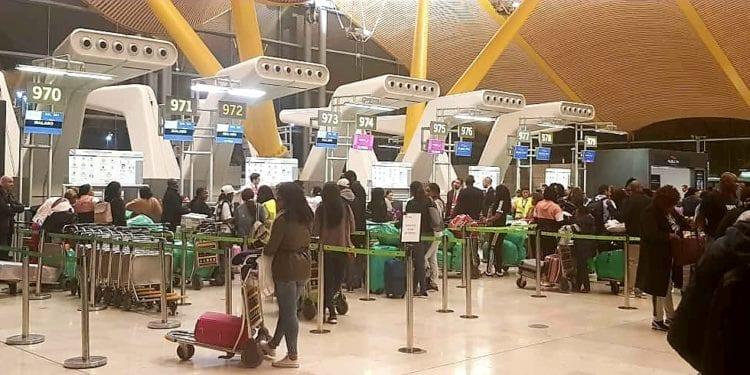 La ruta Madrid-Malabo es una de las más demandadas en temporada alta por los ecuatogineanos