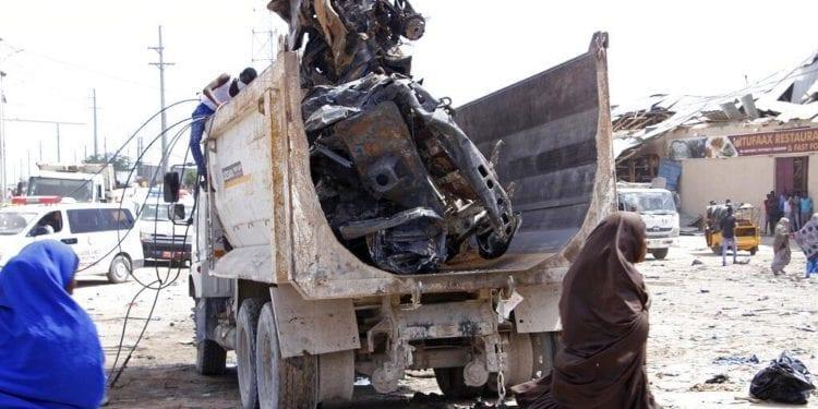 Un camión bomba sacude la capital Somalí Mogadiscio dejando 61 muertos