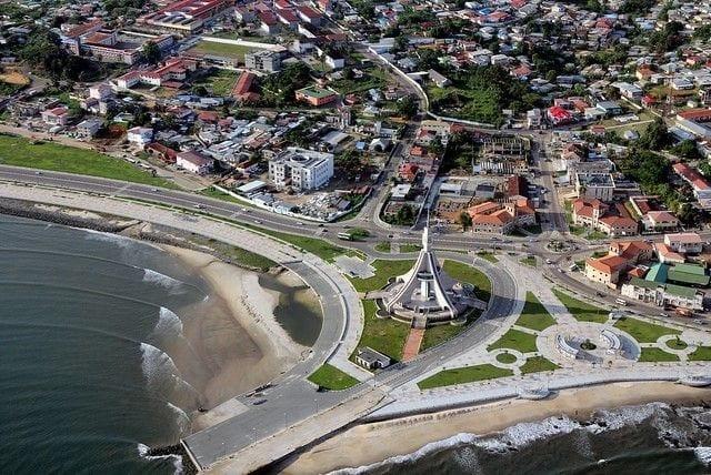 Bata Guinea Ecuatorial, capital de la provincia de Litoral