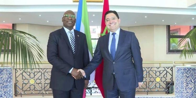 diplomáticos Guinea Ecuatorial y marruecos