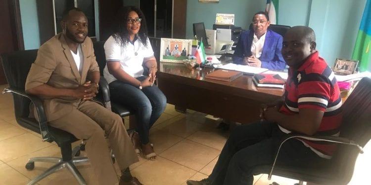 Una delegación de la Comisión Nacional del Grupo Preparatorio de la EITI para Guinea Ecuatorial se encuentra en Evinayong