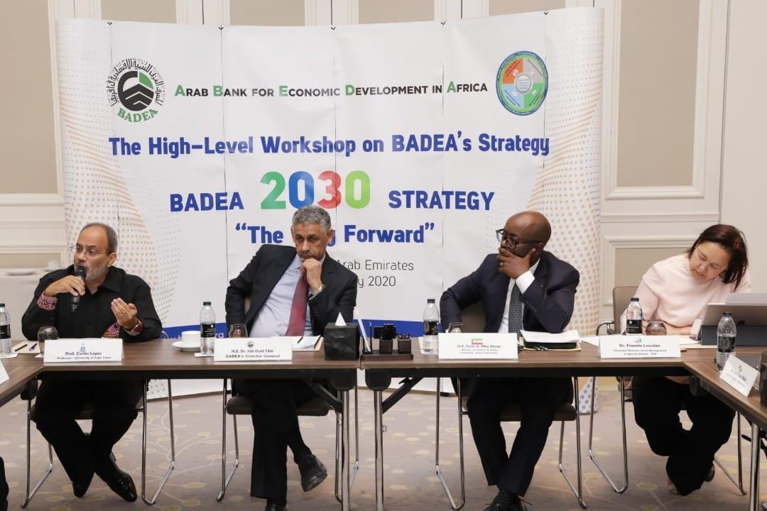 El Ministro de Hacienda, Economía y Planificación participa en la consulta estratégica de Plan 2030 del Banco ARABE de desarrollo para AFRICA