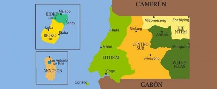 Información sobre Guinea Ecuatorial, turismo, clima, idioma, moneda, etc