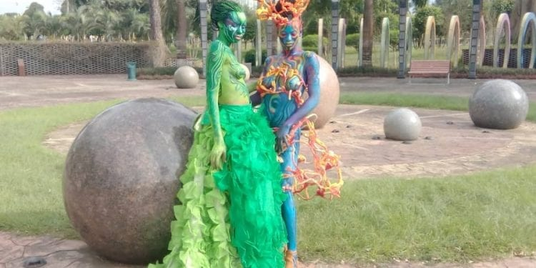 Regresa el festival de pintura corporal Body Painting a Malabo