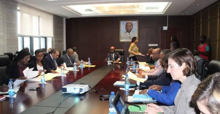 La reunión de alto nivel del Comité Nacional sobre la mejora del clima de negocios y la competitividad de la economía de Guinea Ecuatorial