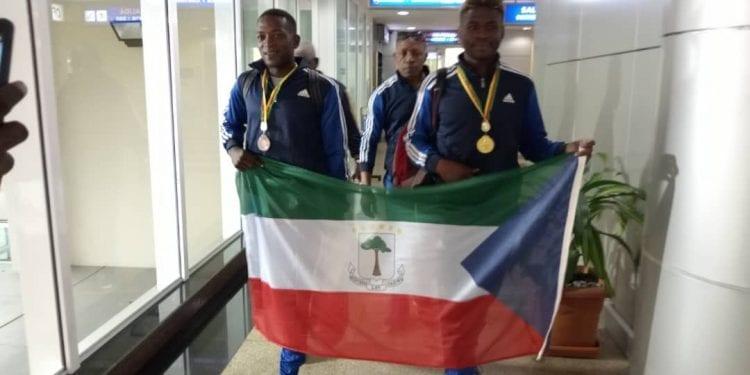 Regresa a Malabo el equipo nacional de Boxeo tras proclamarse campeón de la zona cuarta