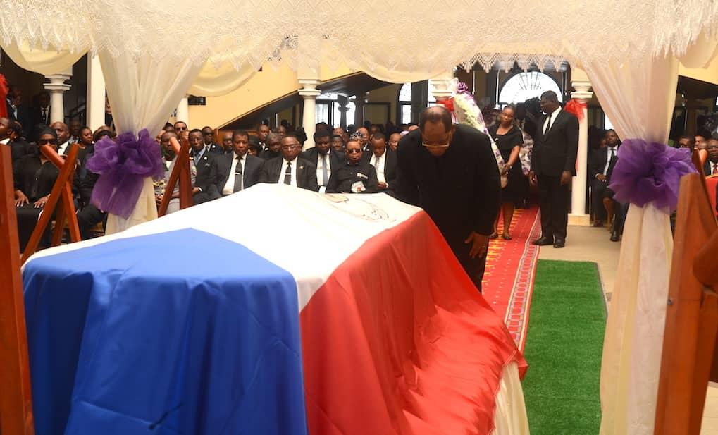 El Pueblo de Guinea Ecuatorial rinde Homenaje a Doña Cristina Dyombe Dyangani