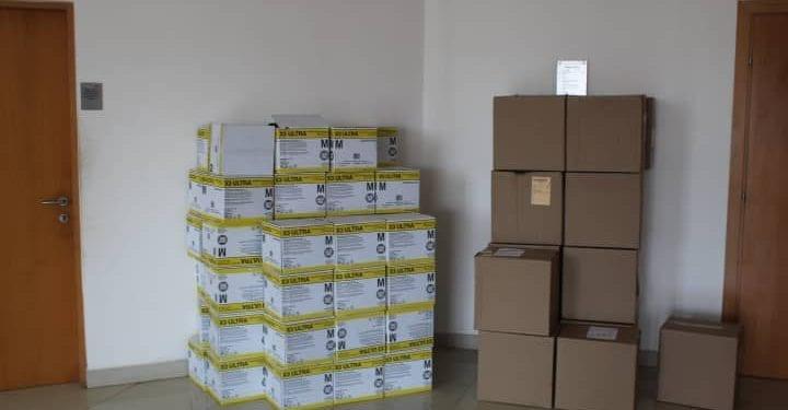 El Ministerio de Minas dona a Sanidad material para la apertura gradual de los aeropuertos