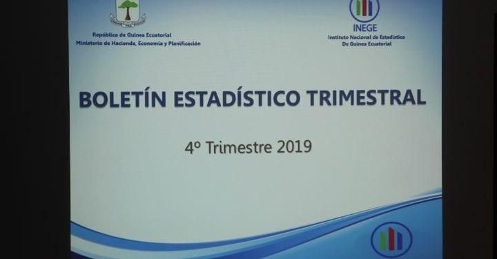 INEGE publica el boletín estadístico del cuarto trimestre del año 2019