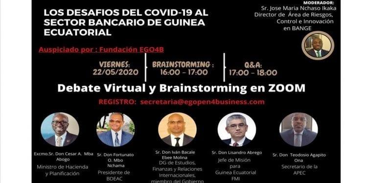 Se pospone el debate virtual sobre los desafíos del COVID-19 al sector bancario de Guinea Ecuatorial