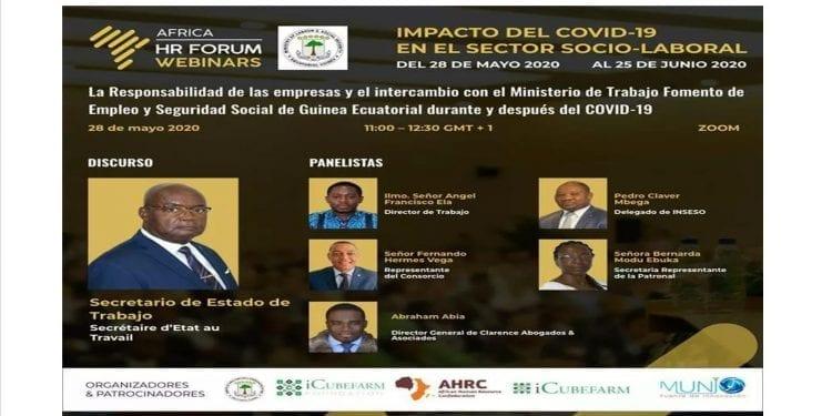 La Responsabilidad de las empresas y el intercambio con el Ministerio de Trabajo Fomento de Empleo y Seguridad Social de Guinea Ecuatorial durante y después del COVID-19
