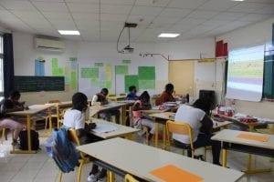 École Française reinicia sus actividades académicas con un importante dispositivo de seguridad anti-covid