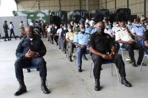 Nguema Obiang Mangue apela el apoyo del cuerpo castrense a los sanitarios para luchar contra el Covid-19