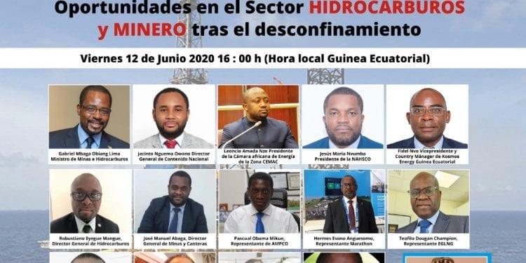 El webinar de las Oportunidades en el Sector de Hidrocarburos y Minero de Guinea Ecuatorial