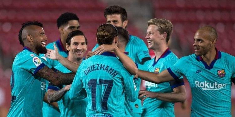 El Barça de la nueva normalidad golea en Mallorca
