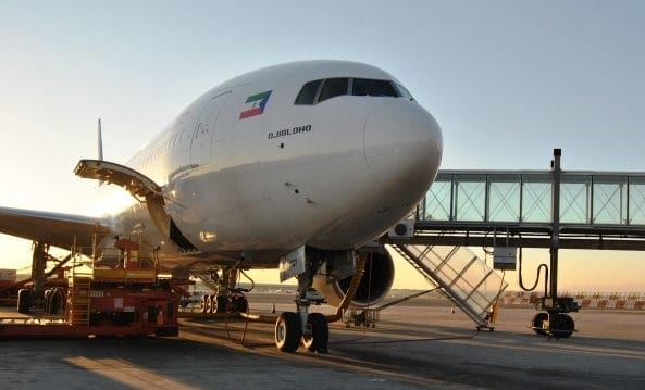 Ceiba realizará el jueves un nuevo 'vuelo especial' en la ruta Malabo-Madrid