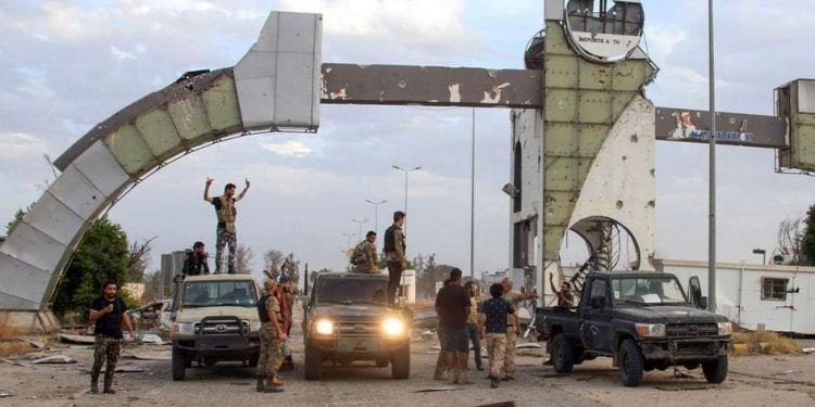 Las fuerzas de Libia respaldadas por la ONU se hacen cargo del aeropuerto internacional de Trípoli