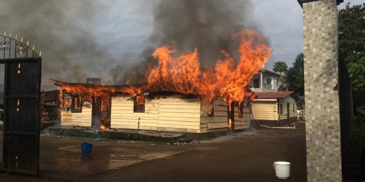 incendio en Timbabé
