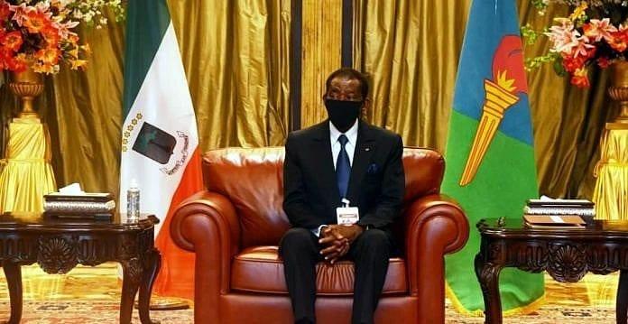 S.E. Teodoro Obiang Nguema Mbasogo recibe en audiencia a una delegación camerunesa