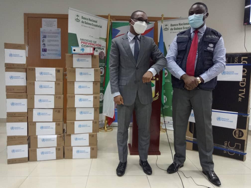 Covid 19: 4.821 casos positivos de coronavirus desde la aparición de la pandemia en Guinea Ecuatorial