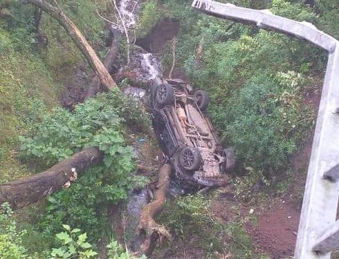 Grave accidente de circulación en la ruta Moka-Riaba