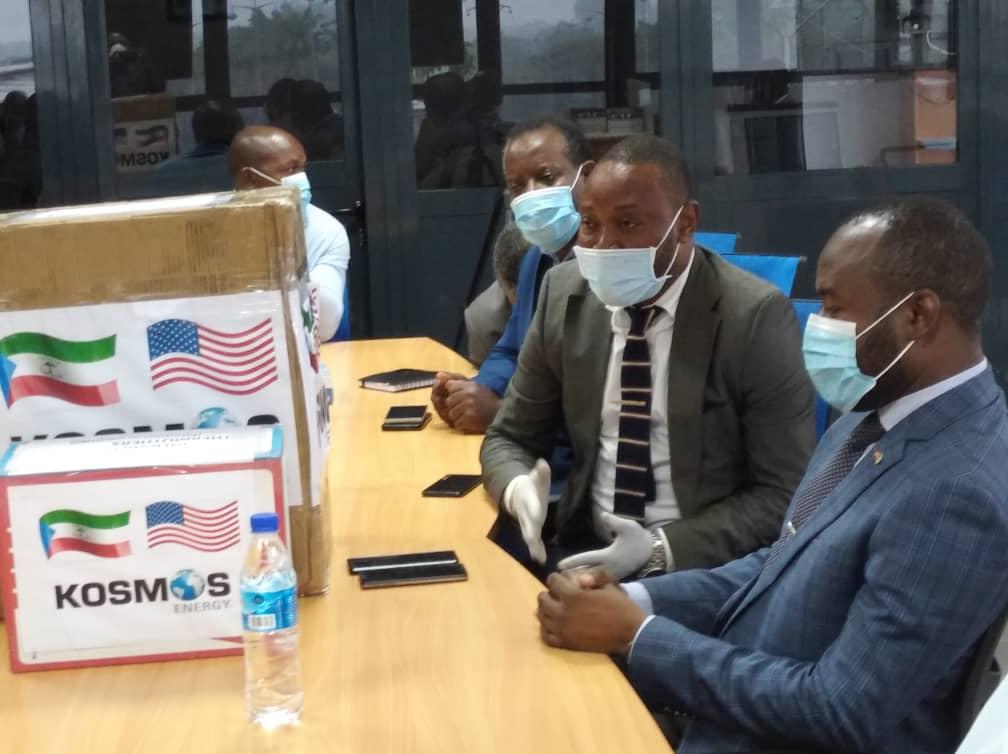 Kosmos Energy dona material sanitario a la Secretaría Nacional Permanente de la Comisión Nacional EITI-GE