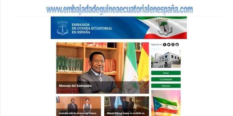 La Embajada de Guinea Ecuatorial en España cuenta con una nueva pagina web oficial