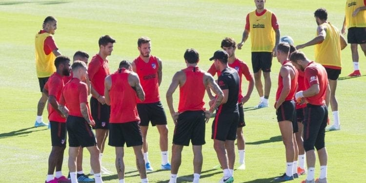 El Atlético confirma dos positivos en Covid-19