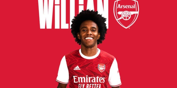 El Arsenal anuncia la llegada de Willian
