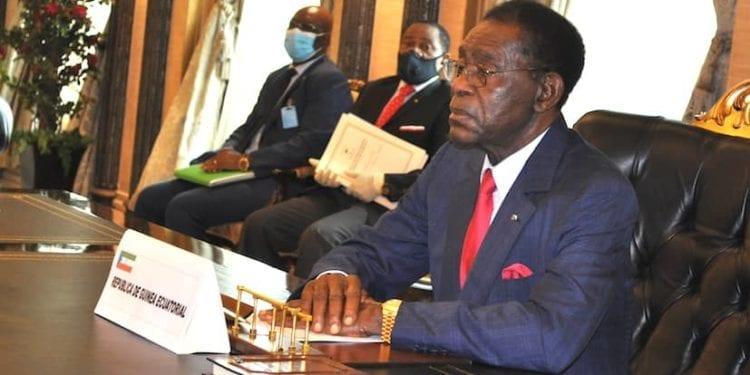 Obiang Nguema Mbasogo y el gobernador del BEAC hablan sobre la crisis derivada del Covid-19