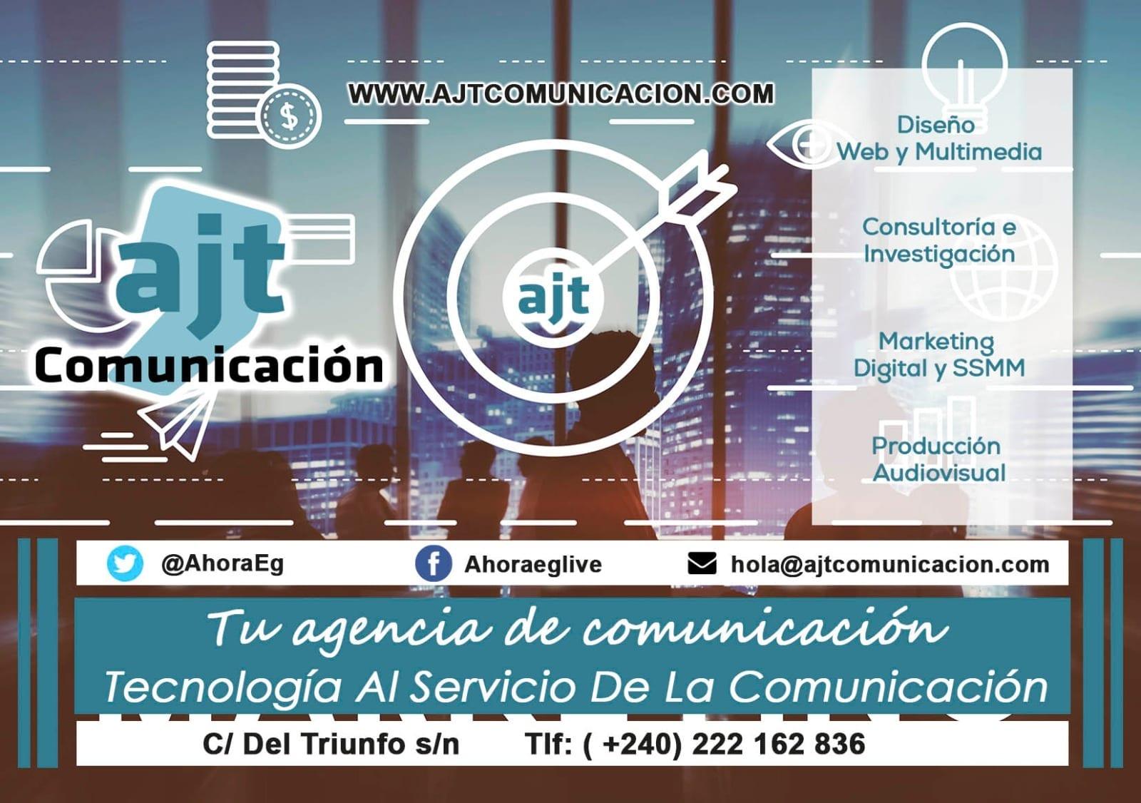 Así es AJT COMUNICACIÓN, la agencia de comunicación estratégica en Guinea Ecuatorial