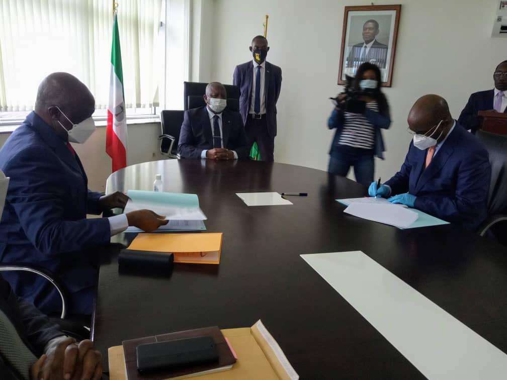 Diosdado Vicente Nsue Milam asume por segunda vez el ministerio de Sanidad