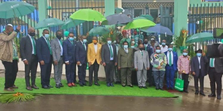 Inauguración de la Agencia nº 30 de BANGE en la ciudad de Riaba