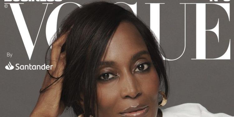 Bisila Bokoko - en la portada de la nueva edición de Vogue Business By Santander