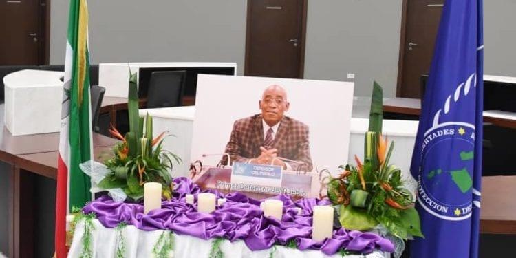Guinea Ecuatorial se despide del Primer Defensor del Pueblo, Marcelino Nguema Onguene