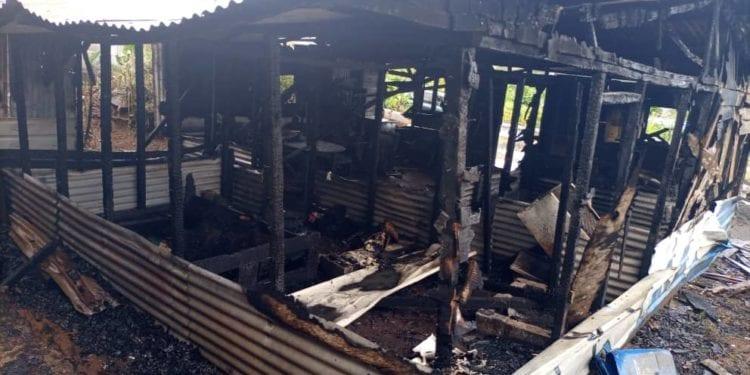 Incendio con víctima mortal en Moka