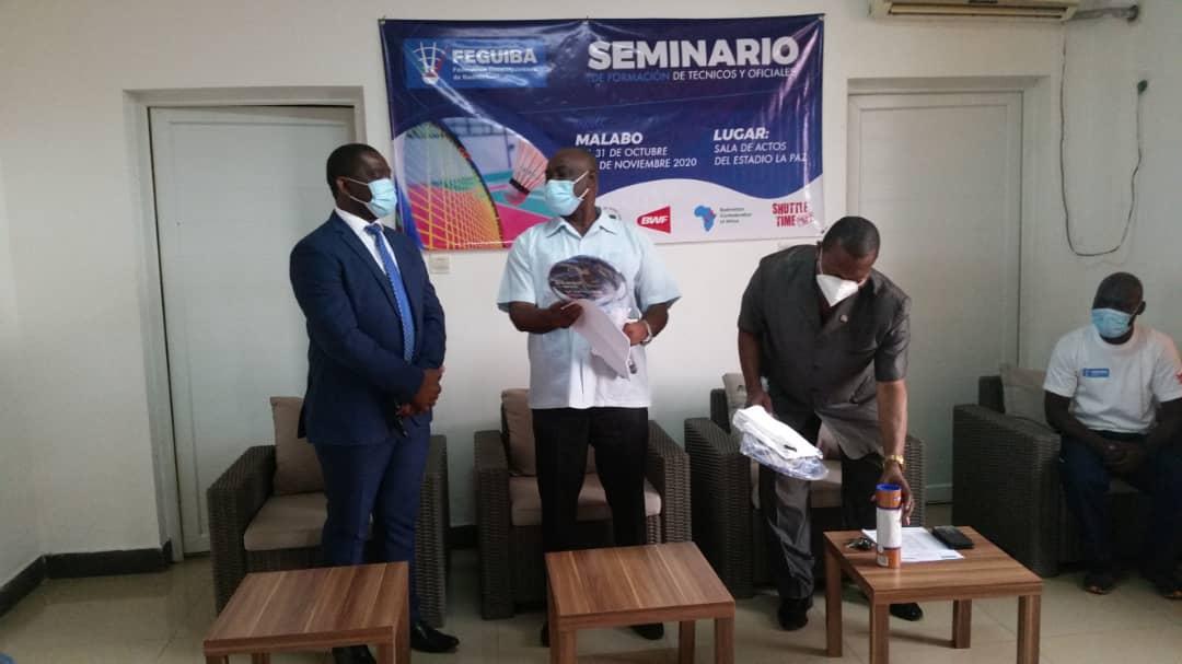 El Bádminton de Guinea Ecuatorial, contará con expertos en fechas próximas