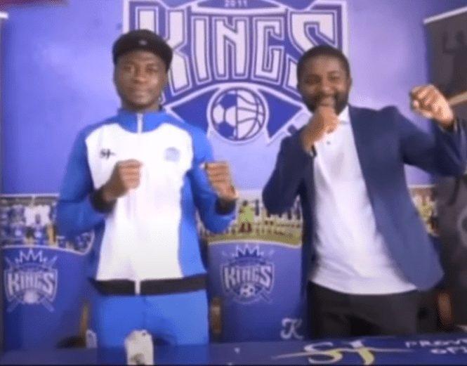 El joven boxeador ecuatoguineano, Raúl Abaga encuentra un patrocinador