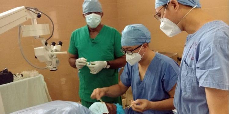 El gesto humanitario de la brigada médica china, se agradece