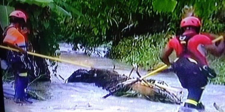 Un niño de 7 años fue arrastrado por el río Abere en el barrio Santa María 5 de Malabo