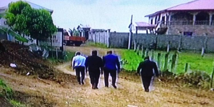Disputa de terrenos en Malabo